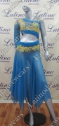 LATIN SALSA COMPETITION DRESS LDW (VL396)