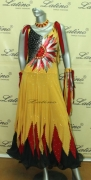 BALLROOM COMPETITION DRESS LDW (SS2) only on sale on latinodancewears.com