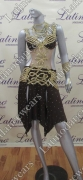 LATIN SALSA COMPETITION DRESS LDW (VL402)