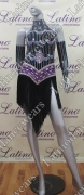 LATIN SALSA COMPETITION DRESS LDW (VL413)