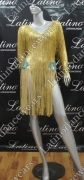 LATIN SALSA COMPETITION DRESS LDW (VL414)