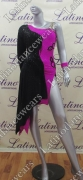 LATIN SALSA COMPETITION DRESS LDW (VL418)