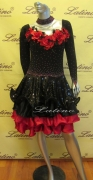 LATIN SALSA COMPETITION DRESS LDW (LT546)