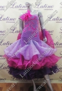 BALLROOM COMPETITION DRESS LDW (SS57)