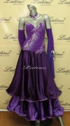 BALLROOM COMPETITION DRESS LDW (ST102) only on sale on latinodancewears.com