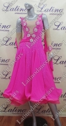 BALLROOM COMPETITION DRESS LDW (ST214A)