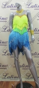 LATIN SALSA COMPETITION DRESS LDW (LS262)