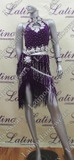 LATIN SALSA COMPETITION DRESS LDW (LS264)