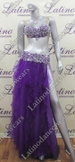 LATIN SALSA BELLY DANCE COMPETITION DRESS LDW (LT817)