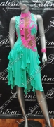 LATIN SALSA COMPETITION DRESS LDW (LS265)