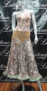 LATIN SALSA COMPETITION DRESS LDW (LT820)