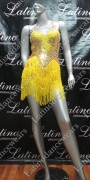 LATIN SALSA COMPETITION DRESS LDW (LT821)