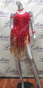 LATIN SALSA COMPETITION DRESS LDW (VL446)