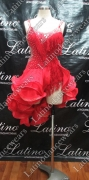 LATIN SALSA COMPETITION DRESS LDW (LT830)