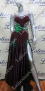 LATIN SALSA COMPETITION DRESS LDW (LT818A)
