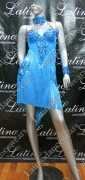 LATIN SALSA COMPETITION DRESS LDW (VL277A)