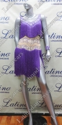 LATIN SALSA COMPETITION DRESS LDW (LT792A)