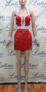 LATIN SALSA COMPETITION DRESS LDW (LT845)