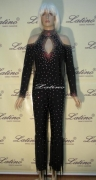 LATIN SALSA COMPETITION CATSUIT LDW (67ST) only on sale on latinodancewears.com