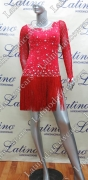 LATIN SALSA COMPETITION DRESS LDW (LT722A)