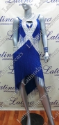 LATIN SALSA COMPETITION DRESS LDW (VL431)