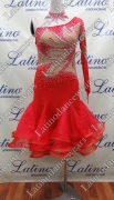 LATIN SALSA COMPETITION DRESS LDW (VL406A)