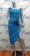 LATIN SALSA COMPETITION DRESS LDW (VL437A)