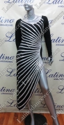 LATIN SALSA COMPETITION DRESS LDW (VL437B)