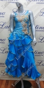 BALLROOM COMPETITION DRESS LDW (ST251)