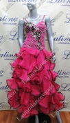 BALLROOM COMPETITION DRESS LDW (ST252)