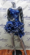 LATIN SALSA COMPETITION DRESS LDW (LT876)