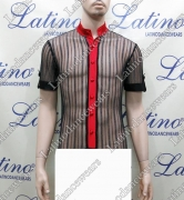 MAN LATIN SALSA SHIRT LDW (B255)