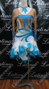 LATIN SALSA COMPETITION DRESS LDW (LS141A)