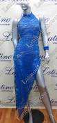LATIN SALSA COMPETITION DRESS LDW (VL469)