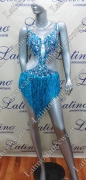 LATIN SALSA COMPETITION DRESS LDW (LT853A)