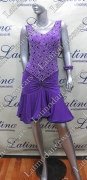 LATIN SALSA COMPETITION DRESS LDW (VL456A)