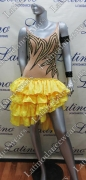 LATIN SALSA COMPETITION DRESS LDW (VL476)