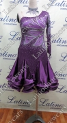 LATIN SALSA COMPETITION DRESS LDW (VL406B)