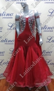 BALLROOM COMPETITION DRESS LDW (ST256A)