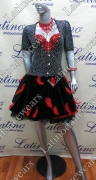 LATIN SALSA COMPETITION DRESS LDW (LS290)