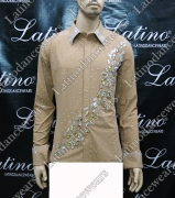MAN LATIN SALSA SHIRT LDW (B269)