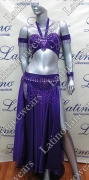 LATIN SALSA BELLY DANCE COMPETITION DRESS LDW (LS291)