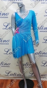 LATIN SALSA COMPETITION DRESS LDW (VL485)