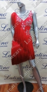 LATIN SALSA COMPETITION DRESS LDW (LT762B)