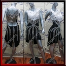 LATIN SALSA COMPETITION DRESS LDW (LT890A)