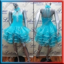 LATIN SALSA COMPETITION DRESS LDW (LT555B)