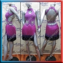 LATIN SALSA COMPETITION DRESS LDW (LT828A)