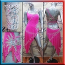 LATIN SALSA COMPETITION DRESS LDW (LT939)