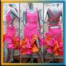 LATIN SALSA COMPETITION DRESS LDW (VL468B)