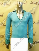 MEN'S LATIN SALSA SHIRT SIZE M LDW (B161)